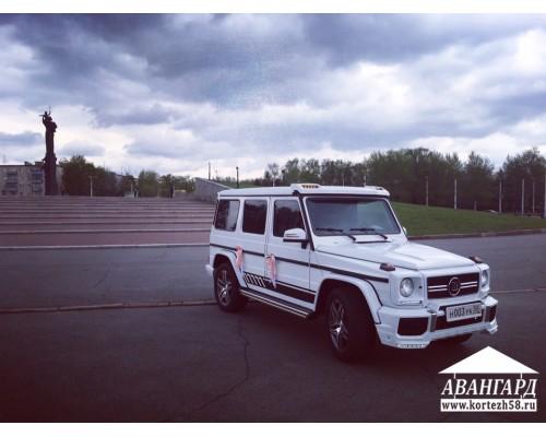 Mercedes G55 (Мерседес Джи 55) белый