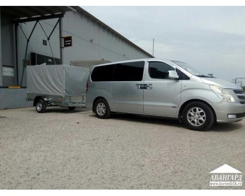 Hyundai Grand Starex + прицеп